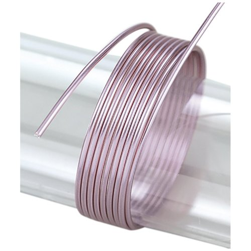 Efco 2 mm x 5 m 42 g Approximately Aluminium Anodised Wire, Lilac
