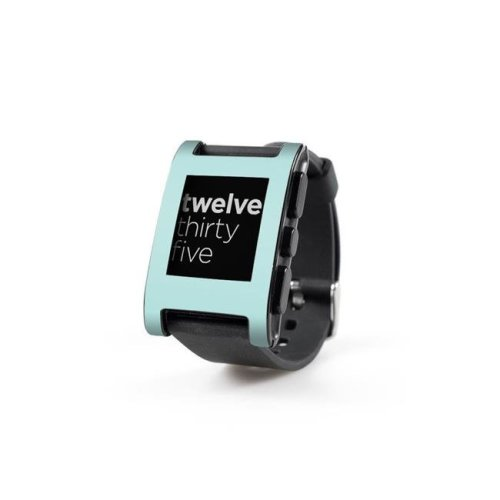 DecalGirl PWCH-SS-MNT Pebble Watch Skin - Solid State Mint