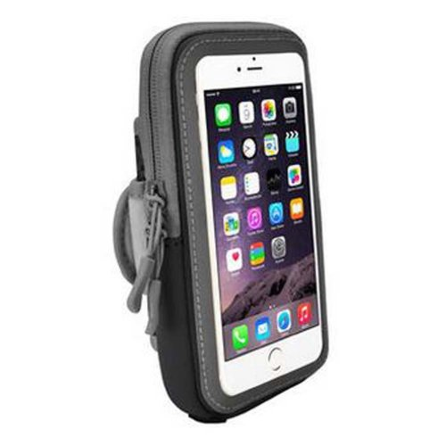 [Black] Cell Phone Armband Wrist Pack Outdoor Sports Armband Fashion Arm Package