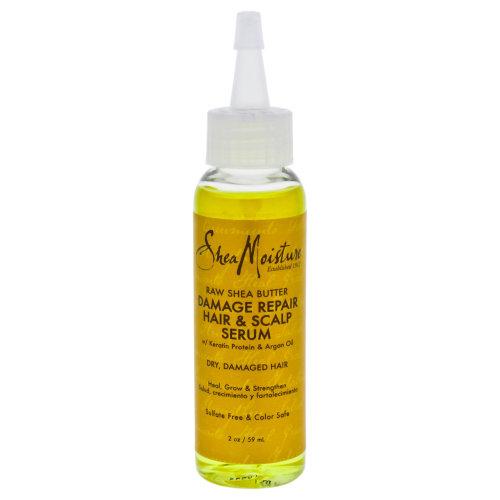 Raw Shea Butter Damage Repair Hair & Scalp Serum by Shea Moisture for Unisex - 2 oz Serum
