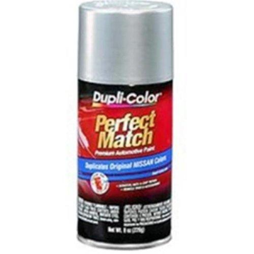 Krylon BNS0595 8 oz Perfect Match Automotive Paint, Nissan Platinum Metallic