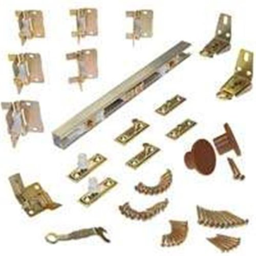 LE Johnson Products 1700486H 4 Door Bifold Hardware Set, 48 In.