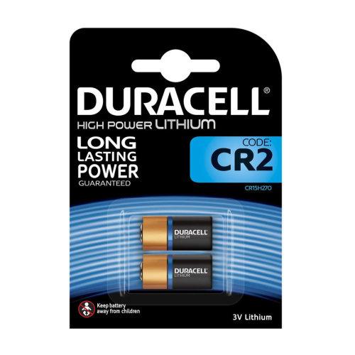 Duracell CR2 Ultra Lithium Photo Batteries DLCR2 ELCR2 CR15H270 3V Battery 2 Pack
