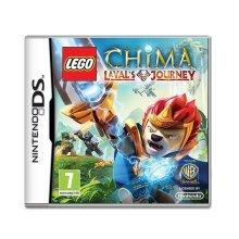 Lego Legends of Chima Lavals Journey Nintendo DS Game