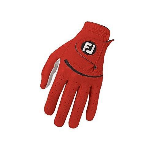 Footjoy FJ Spectrum - Golf Gloves for Left Hand Color: Red Size: ML