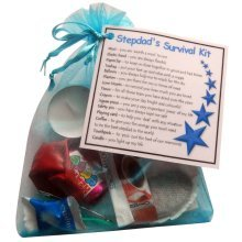 Stepdad's Survival Kit | Novelty Birthday/Christmas Gift for Stepdad