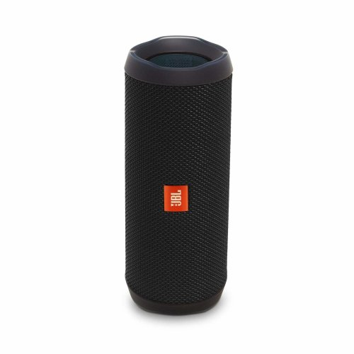 JBL Flip 4 Portable Bluetooth Speaker - Black | Waterproof Speaker