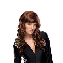 Adult's Brown Movie Starlet Wig