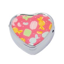 Pill Box For Pocket or Purse/ Multifunction Small Jewel Box Case  J