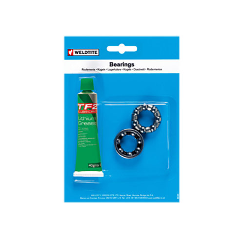 Weldtite 5/32-inch Headset Cages And Grease -  weldtite grease headset cages 532 bearings ball bike