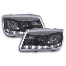 Daylight headlight  VW Bora type 1J Year 99-04 black