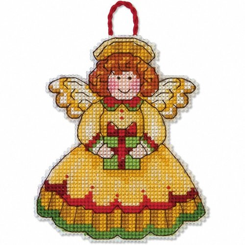D70-08893 - Dimensions Counted X Stitch - Ornament: Angel