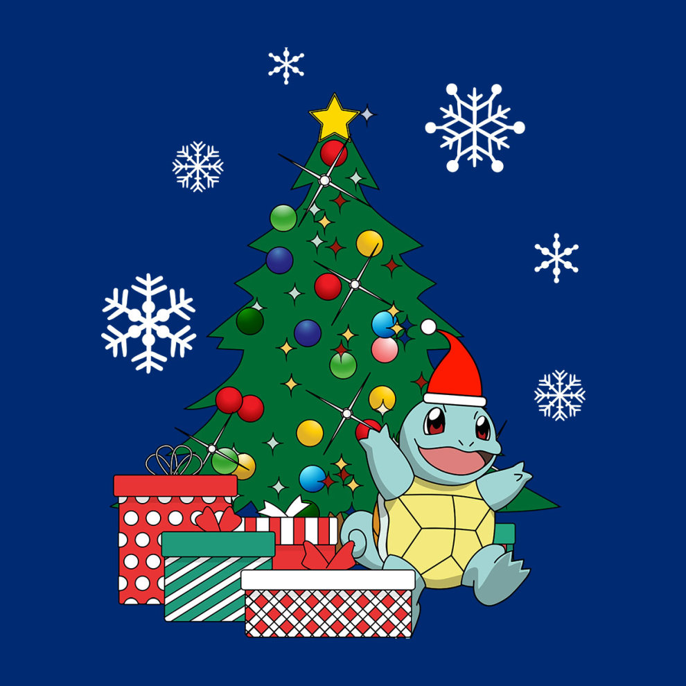 ff9f1a83e Pokemon Squirtle Christmas Tree Men's T-Shirt on OnBuy