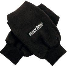 Men's Winter Fleece Mittens - Pair Fingerless Golf Mitts Stay Warm Glove -  pair fingerless winter golf fleece mitts stay warm glove underneath