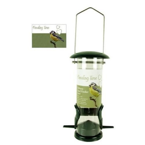 Rosewood Deluxe Nut and Seed Bird Feeder
