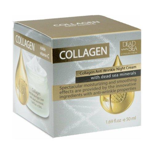 Collagen Anti-Wrinkle Night Cream with Dead Sea Minerals, Dead Sea Collection