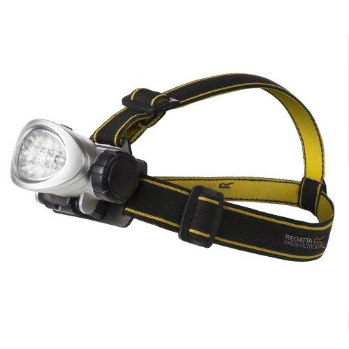 Regatta 10 LED Head Torch - Black/Seal Grey