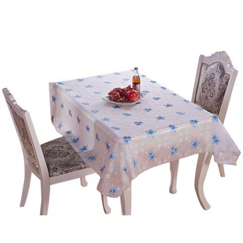 Fashion Practical PVC Waterproof Tablecloth Table Mat C (137*180cm)