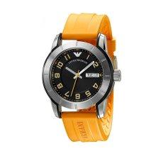 Emporio Armani AR5872 Mens Silicone Strap Watch