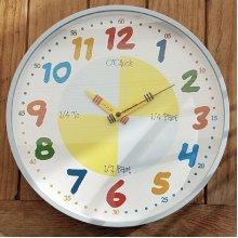 Teach The Time Wall Clock