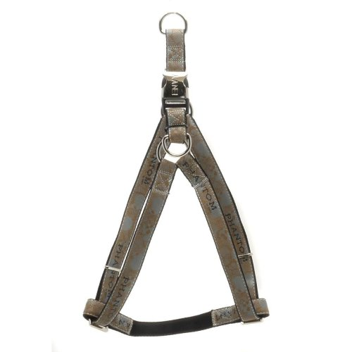 25mm x 600-1000mm Brown Phantom Dog Harness - Envy 25x60100cm -  envy phantom dog harness brown 25x60100cm