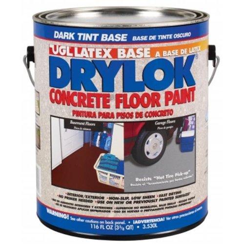 United Gilsonite 116 Oz Dark Tint Base Drylok Latex Base Concrete Floor Paint L - Pack of 2