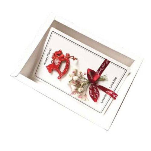 Modern Floral Thank You Cards With Gift Boxes And Gift Bag
