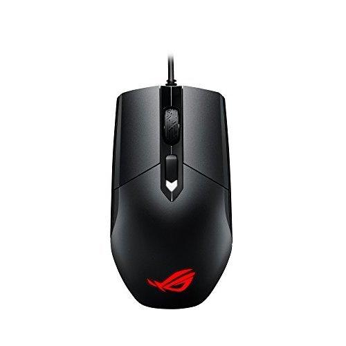 ASUS ROG Strix Impact Aura RGB USB Wired Optical Ergonomic Ambidextrous Gaming Mouse