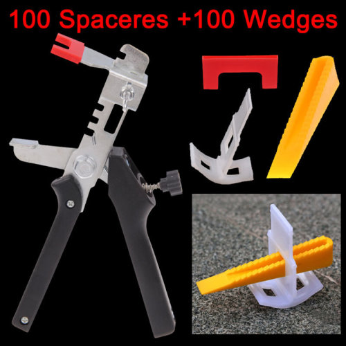 200 Tile Leveling Spacer System Construction Tool Spacer-Flooring Pliers Tool