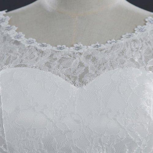Lace Vintage Plus Size Wedding Dresses Vestidos De Novia Bridal Bridal Dress Robe de Mariee