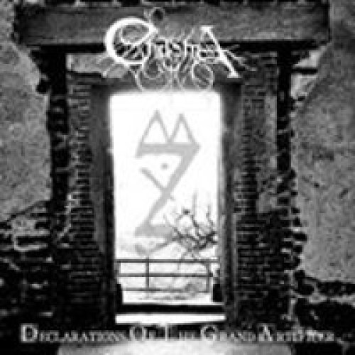 CHASMA - DECLARATIONS OF THE GRAND ARTIFICER - CD