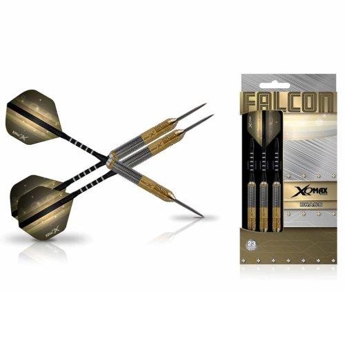 XQmax Darts Dart Set Falcon 3 pcs 23g Brass Steel Play Throwing Game QD1103170