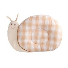 Cute Sleep Pillow For For 0-1 Years Cotton Prevent Flat Head Pillows, snail