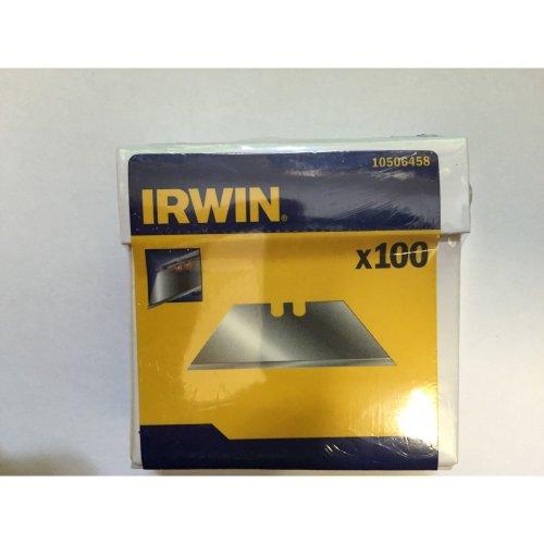 Genuine Irwin Carbon Trapeziod Stanley Type Blades 10506458 100 PK