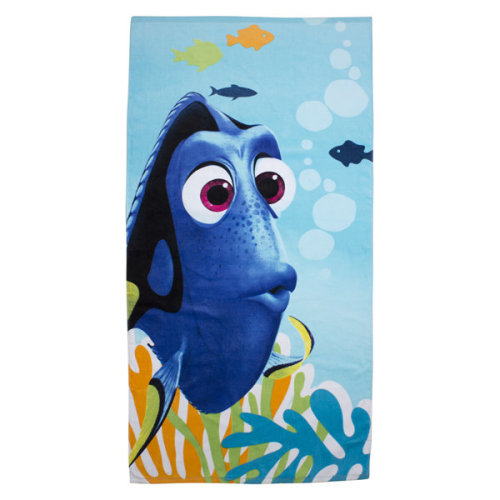 Finding Dory 'dory' Towel - Beach Nemo New Bath Disney Official Character -  beach towel finding dory nemo new bath disney official character