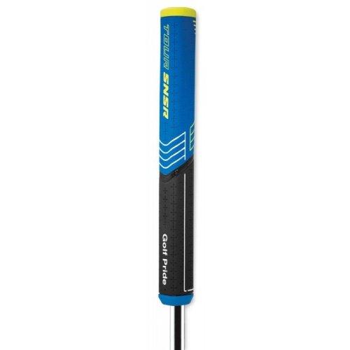 Golf Pride Tour SNSR Straight Golf Putter Grip Black/Blue