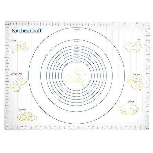 KitchenCraft Non-Stick 43cm x 61cm Pastry Mat