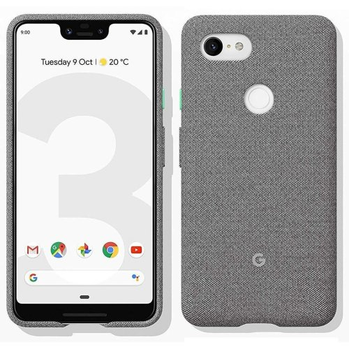 Official Google Pixel 3 XL Fabric Case - Fog