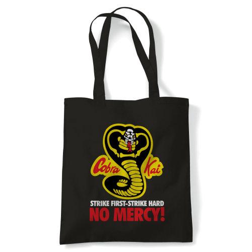 Cobra Kai No Mercy, Martial Arts Tote - Reusable Shopping Canvas Bag