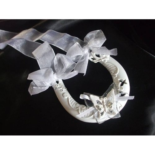 Butterfly Wedding Horseshoe by Lesser & Pavey