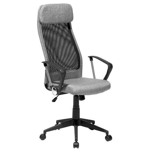Swivel Office Chair Grey PIONEER