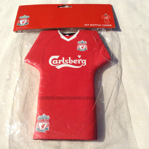 Liverpool Bottle Cover / Drinks Cooler -with Personalisation