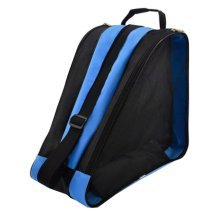 Children Ice Skate Backpack Skate Roller Carry Bag Skate Blue