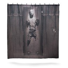 Star Wars - Han Solo in Carbonite Shower Curtain