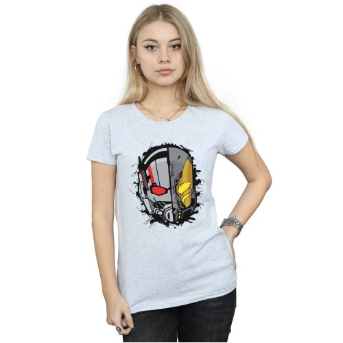 Marvel Women's Ant-Man Split Helmet T-Shirt