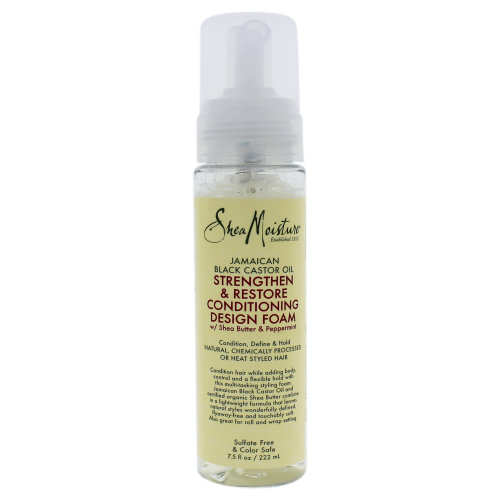 Jamaican Black Castor Oil Strengthen and Restore Conditioning Design Foam by Shea Moisture for Unisex - 7.5 oz Foam