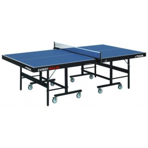 Stiga Table Tennis Table Privat Roller CCS Blue with a 19mm Top