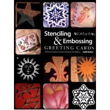 Stenciling and Embossing Greeting Cards