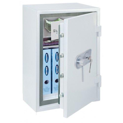 Atlas White Safe Rottner Security Comsafe de1 Key Lock £10 000