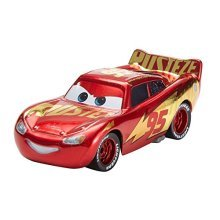 Disney Cars Pixar Die-Cast Lightning Mcqueen With Wrap Vehicle